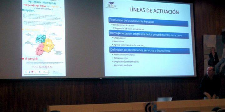 D. Miguel Simón Expósito y la Situación de la Dependencia en Extremadura