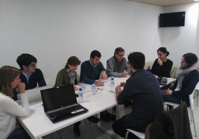 Grupo de trabajo CCMIJU- Colegio Profesional de Fisioterapeutas de Extremadura