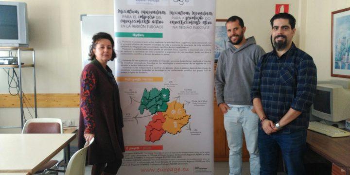Visita de trabajo al Hogar de Mayores de Trujillo