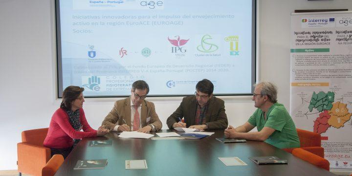 Convenio de colaboración con el Colegio Profesional de Fisioterapeutas de Extremadura