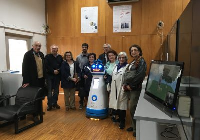 Visita da Associação Nacional de Apoio ao Idoso ao ISR-Coimbra