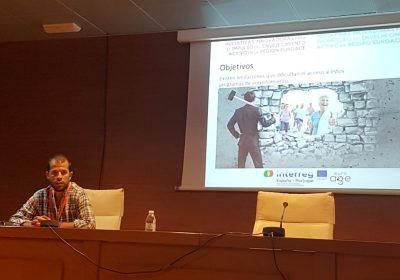 Presentación de 4 comunicaciones orales y 1 póster en el II Congreso Intersectorial de Envejecimiento y Dependencia de Jaén