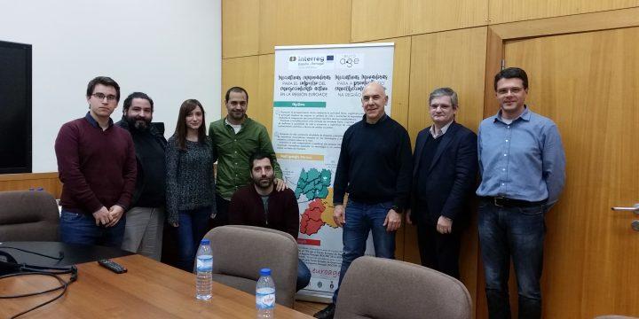 Encuentro de coordinación en el Instituto de Sistemas e Robótica de Coimbra