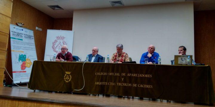 Presentación de EUROAGE a la Confederación Española de Aulas de la Tercera Edad