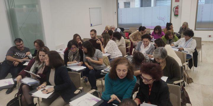 Prueba y validación de prototipos con los Psicólogos del Colegio Oficial de Extremadura